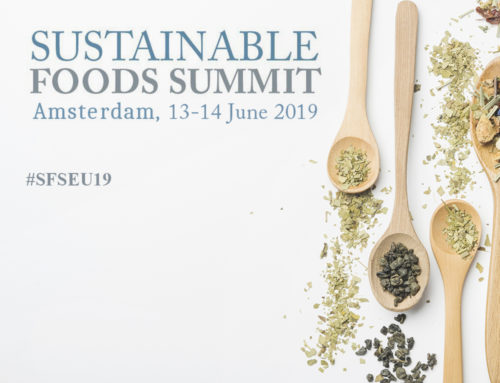 """Sustainable Foods Summit"" Amsterdam 13-14 June 2019"